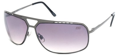 Angle of SW Aviator Style #68044 in Grey Frame, Women's and Men's