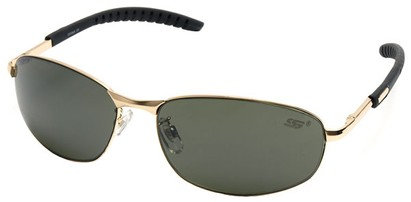 Angle of SW Fashion Style #8005 in Gold Frame, Women's and Men's