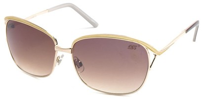 Angle of SW Hollywood Style #108 in Gold and Yellow Frame, Women's and Men's