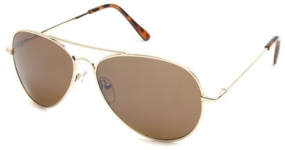 Angle of Gunnar #1212 in Gold Frame with Amber Lenses, Women's and Men's Aviator Sunglasses