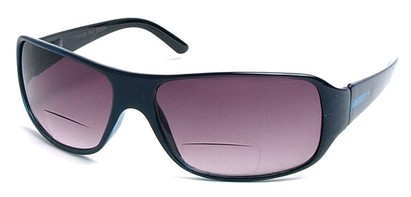 Angle of Spencer #7975 in Blue, Women's and Men's Square Reading Sunglasses