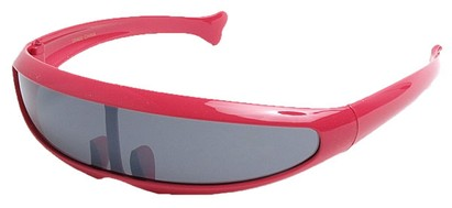 Angle of SW Funky Retro Style #8848 in Hot Pink Frame, Women's and Men's