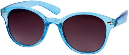 Angle of SW Retro Style #5410 in Blue Frame, Women's and Men's