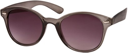 Angle of SW Retro Style #5410 in Grey Frame, Women's and Men's