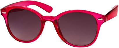 Angle of SW Retro Style #5410 in Hot Pink Frame, Women's and Men's
