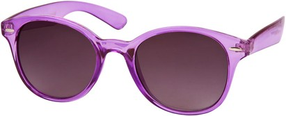 Angle of SW Retro Style #5410 in Purple Frame, Women's and Men's