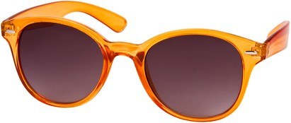 Angle of SW Retro Style #5410 in Orange Frame, Women's and Men's