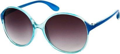 Oversized Two Tone Sunglasses