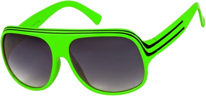 Angle of SW Celebrity Style #1960 in Lime Green/Black Frame, Women's and Men's