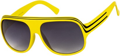 Angle of SW Celebrity Style #1960 in Yellow/Black Frame, Women's and Men's