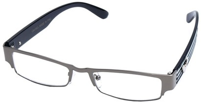 Angle of SW Clear Style #2901 in Grey Frame, Women's and Men's