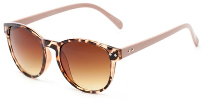 Angle of Darby #1029 in Tortoise Frame with Amber Lenses, Women's and Men's Retro Square Sunglasses
