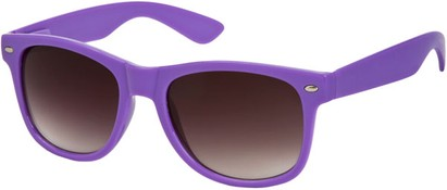 Angle of SW Neon Retro Style #1670 in Purple Frame, Women's and Men's