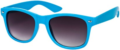 Angle of SW Neon Retro Style #1670 in Dark Blue Frame, Women's and Men's