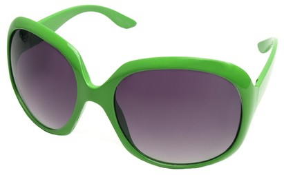 Angle of SW Celebrity Style #511 in Green Frame, Women's and Men's