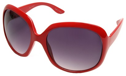 Angle of SW Celebrity Style #511 in Red Frame, Women's and Men's