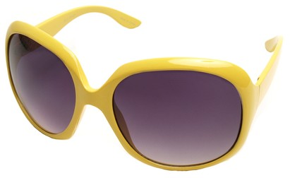 Angle of SW Celebrity Style #511 in Yellow Frame, Women's and Men's