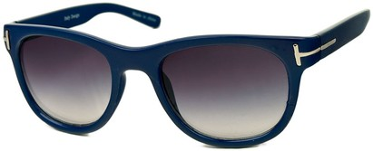 Angle of SW Retro Style #791 in Dark Blue Frame, Women's and Men's