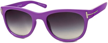 Angle of SW Retro Style #791 in Purple Frame, Women's and Men's