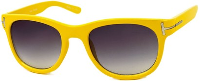 Angle of SW Retro Style #791 in Yellow Frame, Women's and Men's